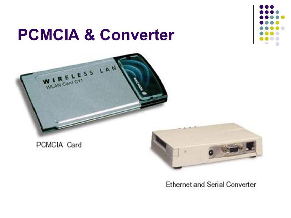PCMCIA & Converter