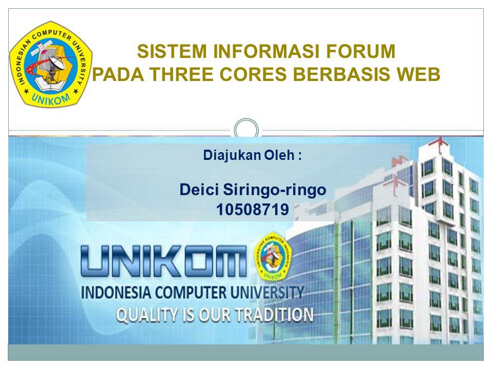 8.UC8 : Post Posting, administrator dan user (member) berhak untuk melakukan posting topic dalam forum Three Cores.