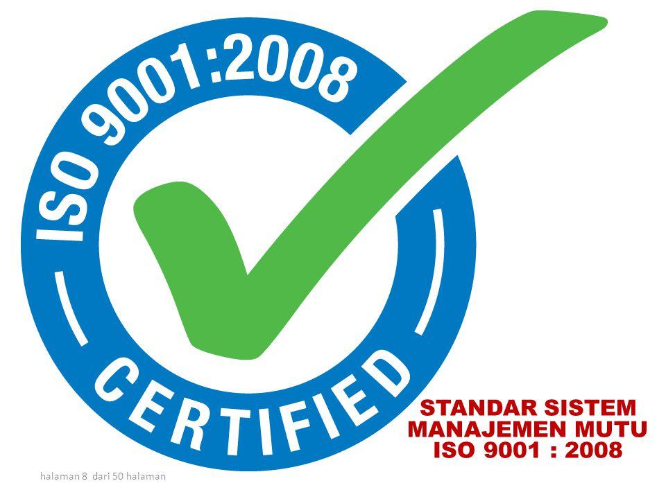 halaman 7 dari 50 halaman Zero Defect & Zero Delay : ISO 9001 INPUT OUTPUT PROSES Zero Accident : OHSAS 18001 atau SMK3 (WAJIB) GLOBAL TREND Zero Emis