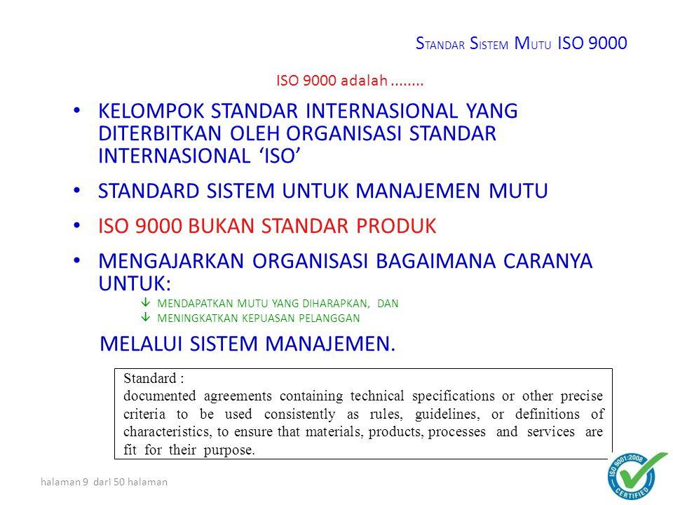 STANDAR SISTEM MANAJEMEN MUTU ISO 9001 : 2008 halaman 8 dari 50 halaman