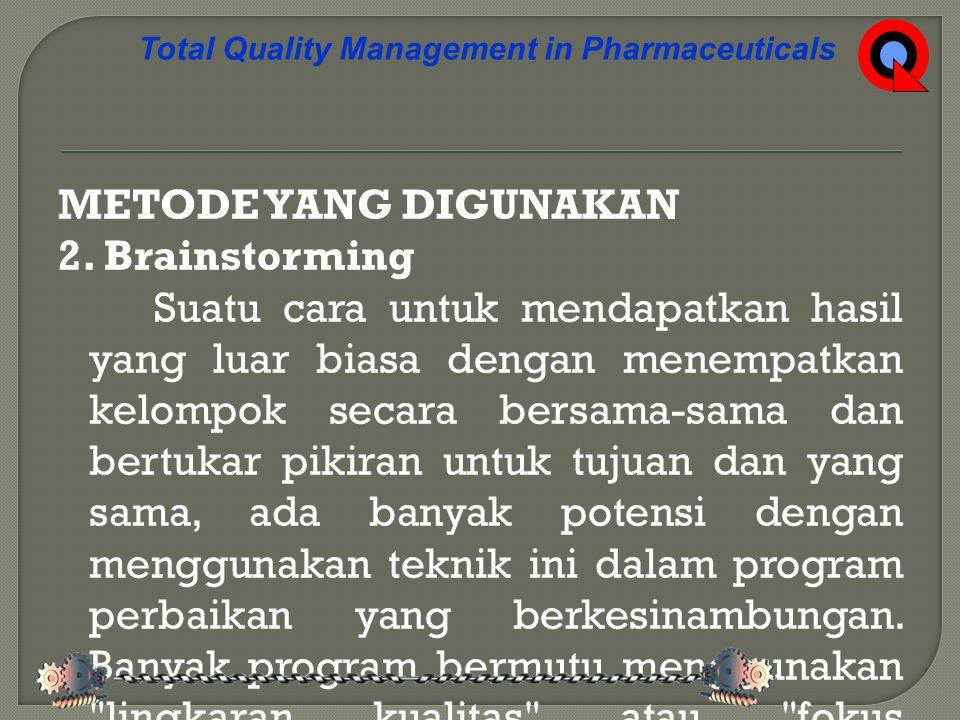 KESIMPULAN 1.Tanggung jawab utama produsen farmasi bagi kualitas produk-produknya adalah a.