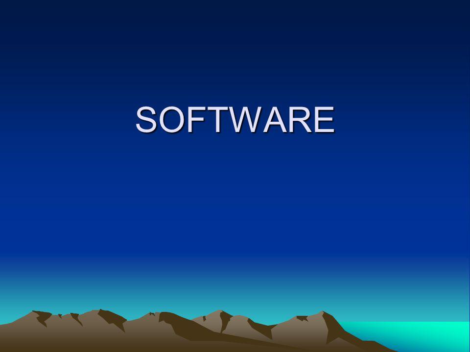 Sejak personal computer di perkenalkan pada tahun 1977, software mengalami perkembangan yang sangat pesat.