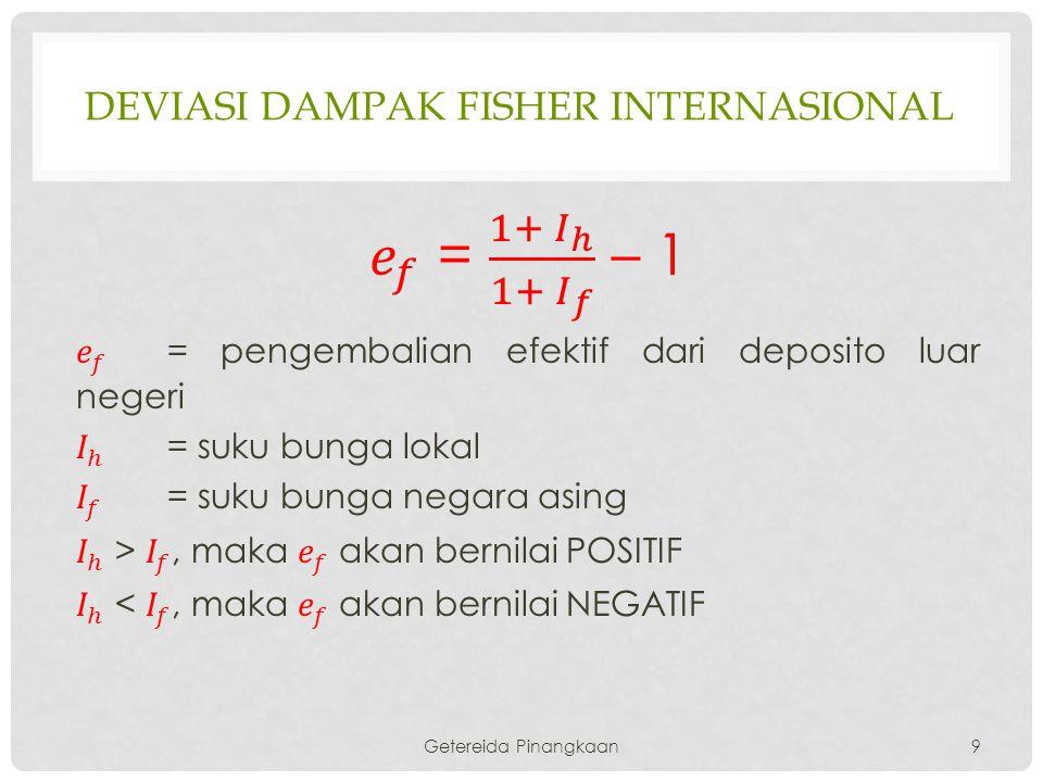 DEVIASI DAMPAK FISHER INTERNASIONAL Getereida Pinangkaan9