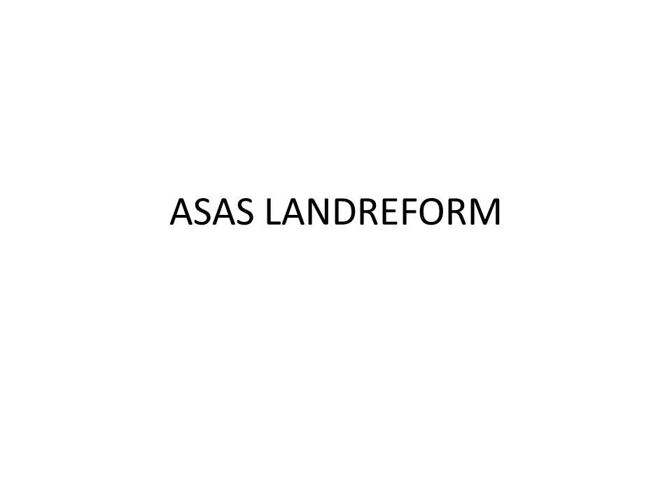 - Pemilikan dan penguasaan Tanah yang melampaui batas kewajaran jelas merupakan hal yang bertentangan dengan asas landreform, yang bertujuan untuk mewujudkan keadilan sosial berupa pemerataan penguasaan tanah sebagaimana dijabarkan dalam pasal 7, 17 UUPA Jo.