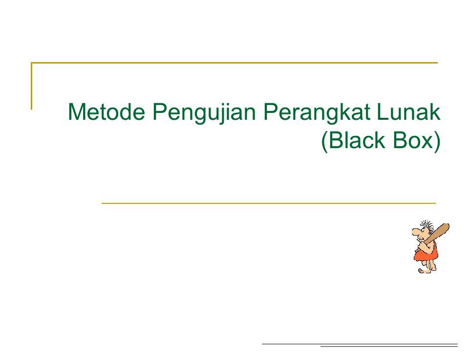 Contoh pengujian Black Box... 32