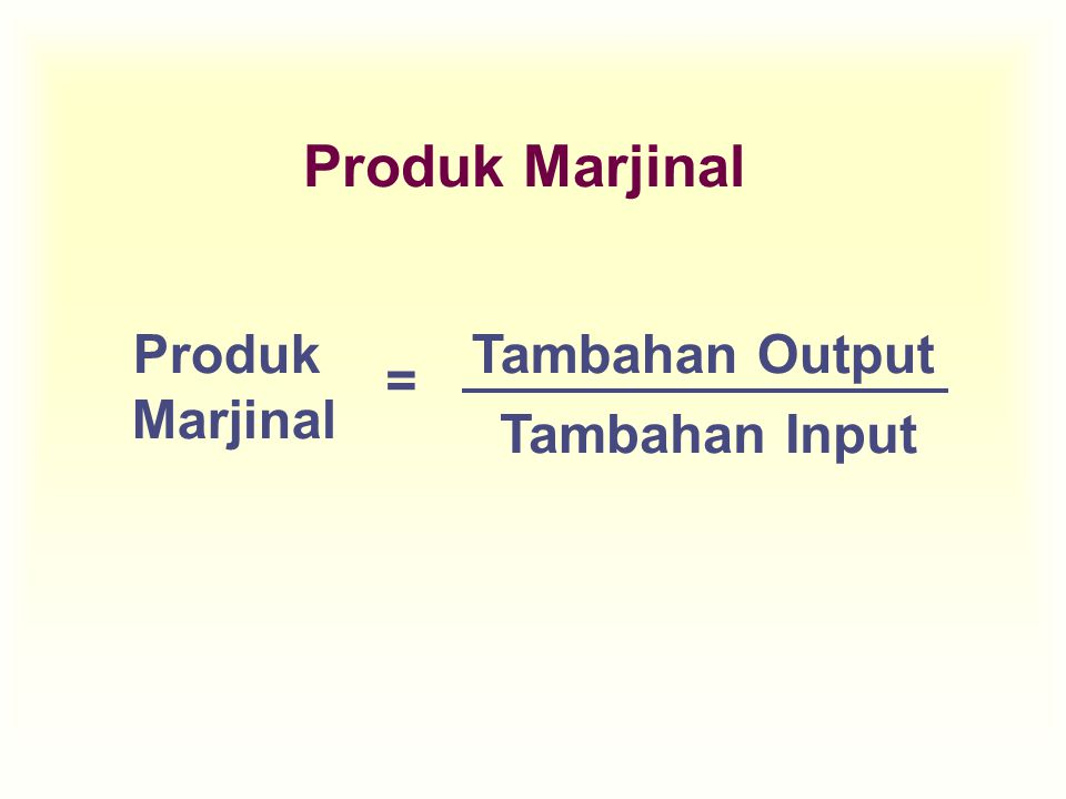 Total Cost Total fixed & variable cost Average total cost = Total cost Quantity Biaya Produksi Jk Pendek