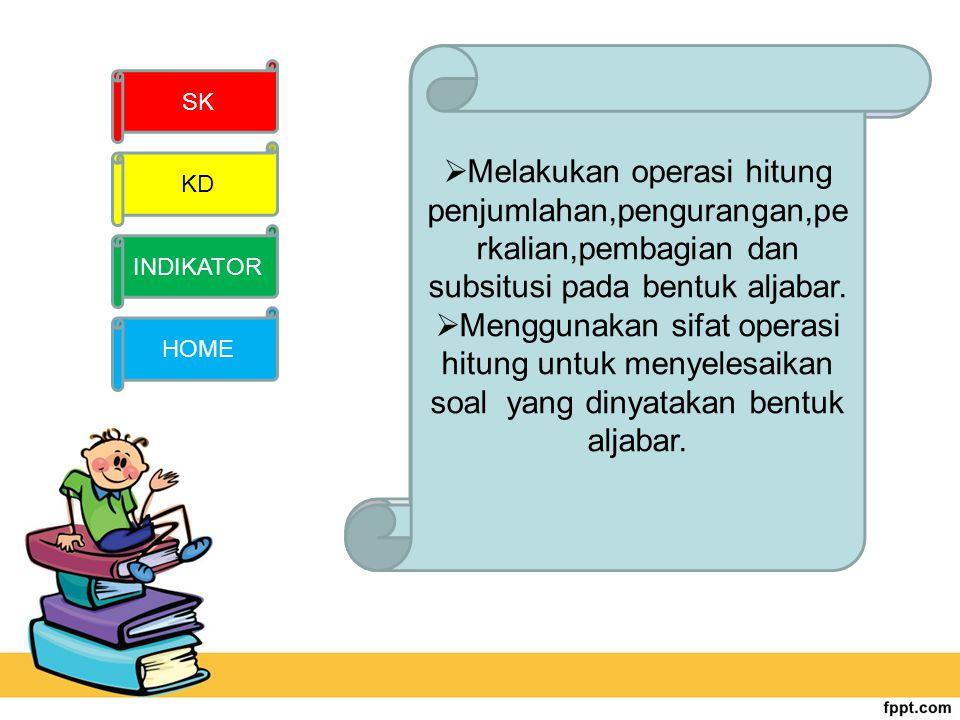 REFERENSI INTERNET PEMBUAT Sugiharto,Aris. 2010. Buku Pendamping Lengkap Matematika Untuk SMP. Jogjakarta : Tunas Publishig Tim karisma. 2012. LKS Mat