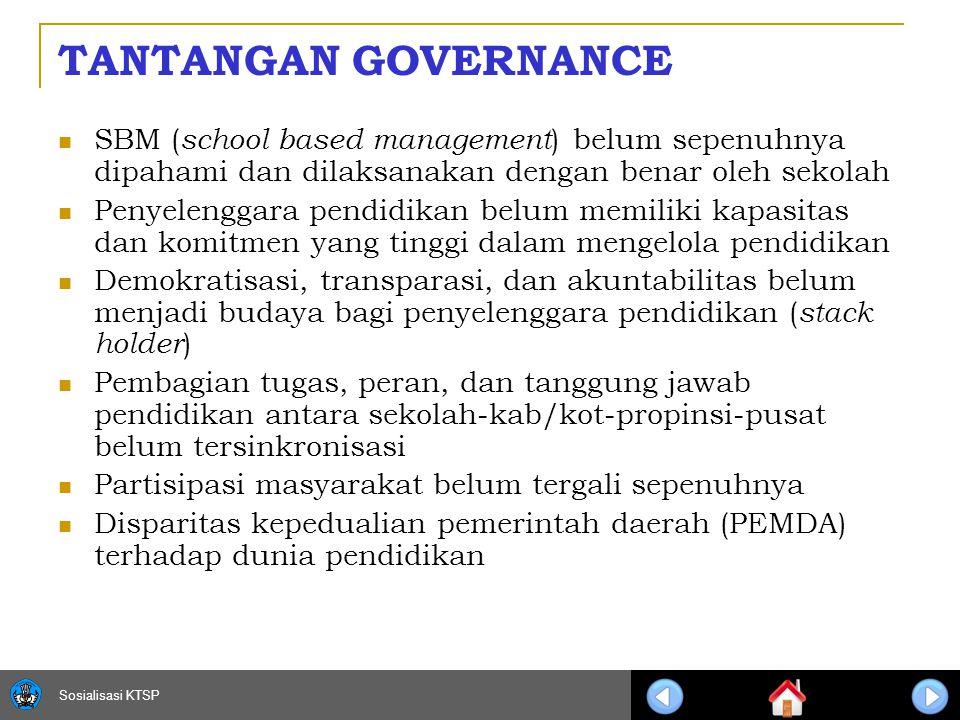 Sosialisasi KTSP 10 PJM GOVERNANCE