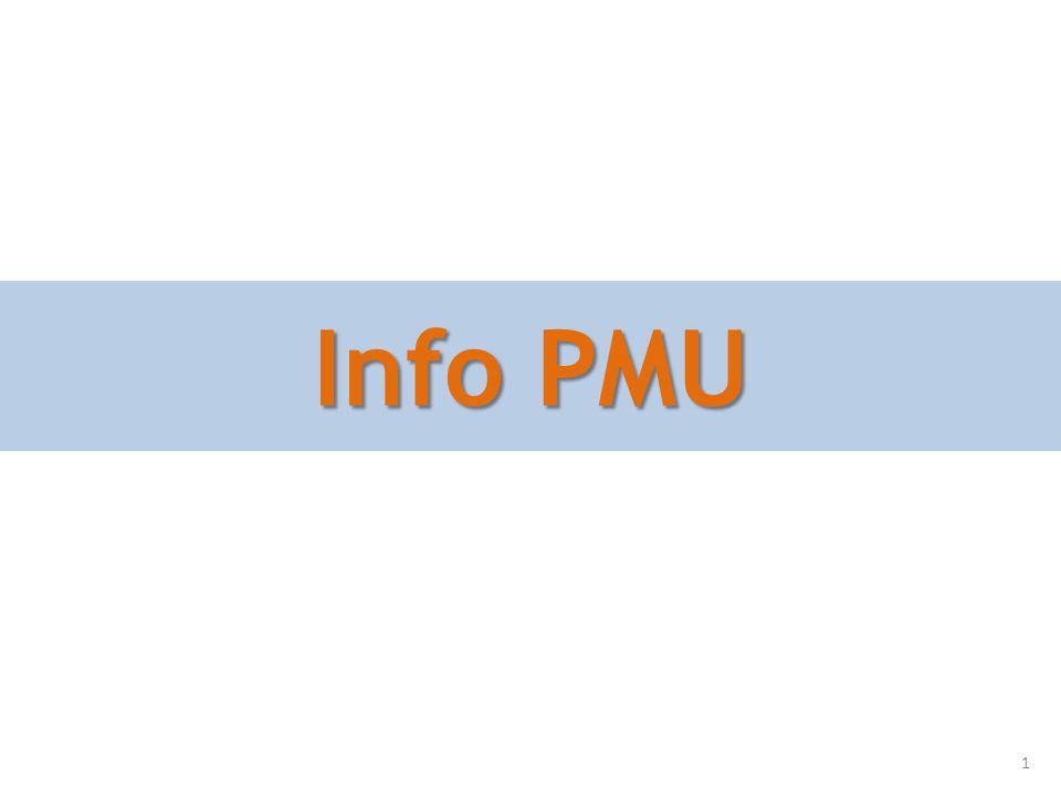 Info PMU 1