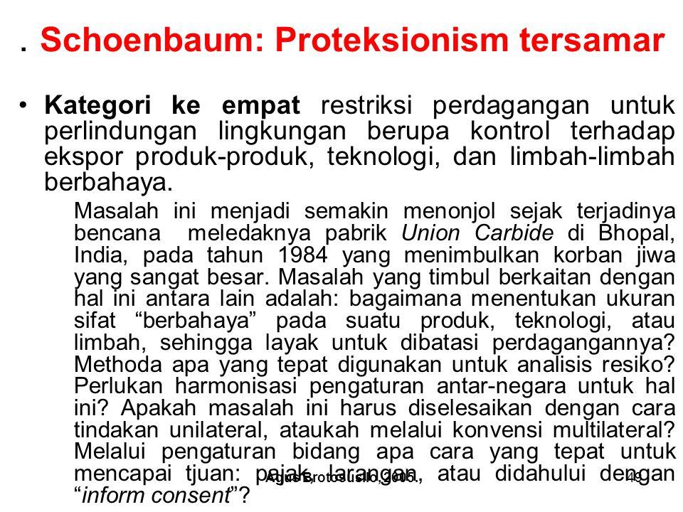 Agus Brotosusilo, 2005.50 9.