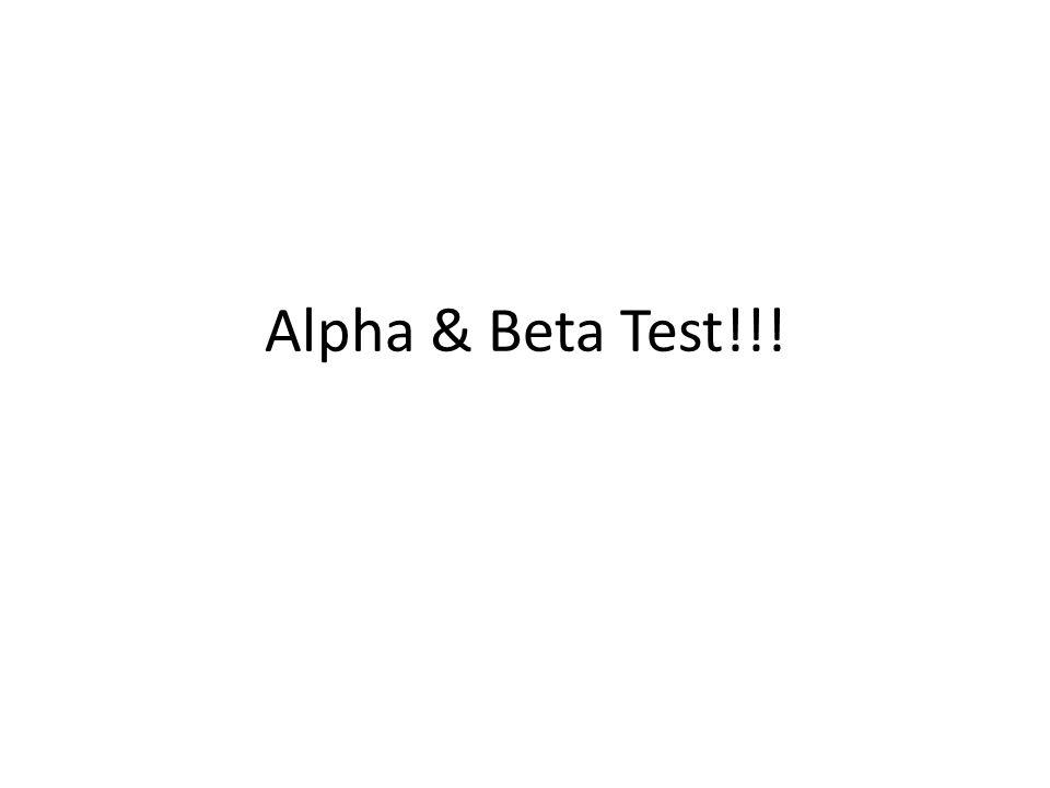 Alpha Test 1 Apakah pemilihan suatu produk galon pada pasar Business-to-Business (B2B) sama dengan Business-to-Consumen (B2C).