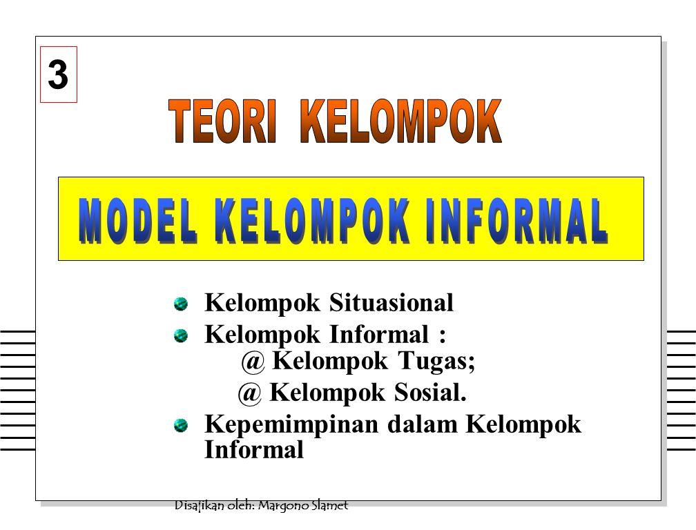 Margono S.- Teori Kelompok Informal21 b.