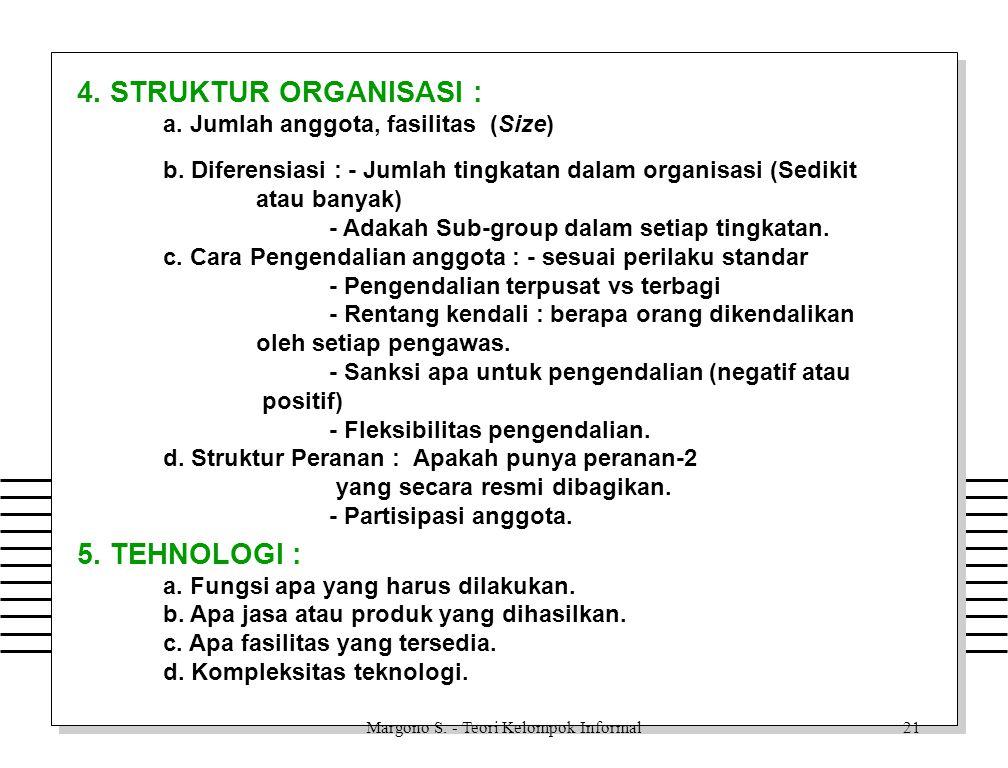 Margono S.- Teori Kelompok Informal20 c.