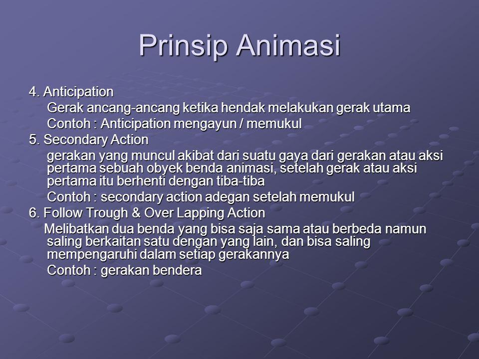 Prinsip Animasi 7.