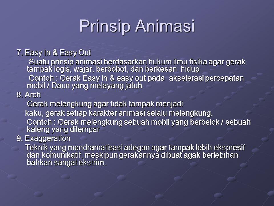 Prinsip Animasi 10.