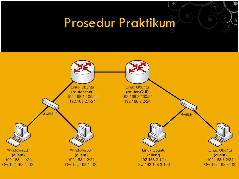 Prosedur Praktikum
