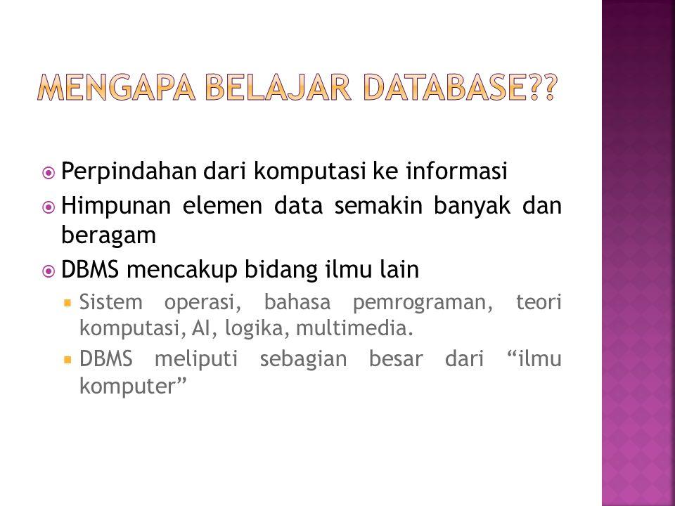  data model adalah kumpulan konstruksi diskripsi data.