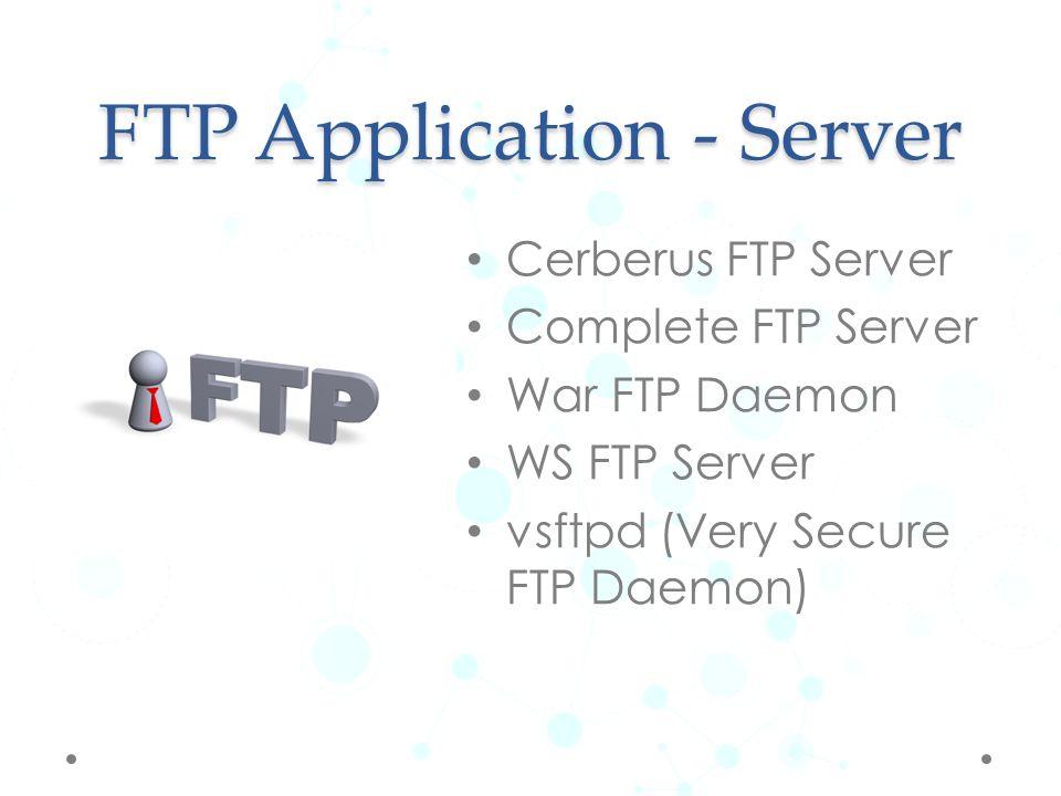 FTP Application - Client FileZilla CuteFTP FireFTP CoreFTP cURL
