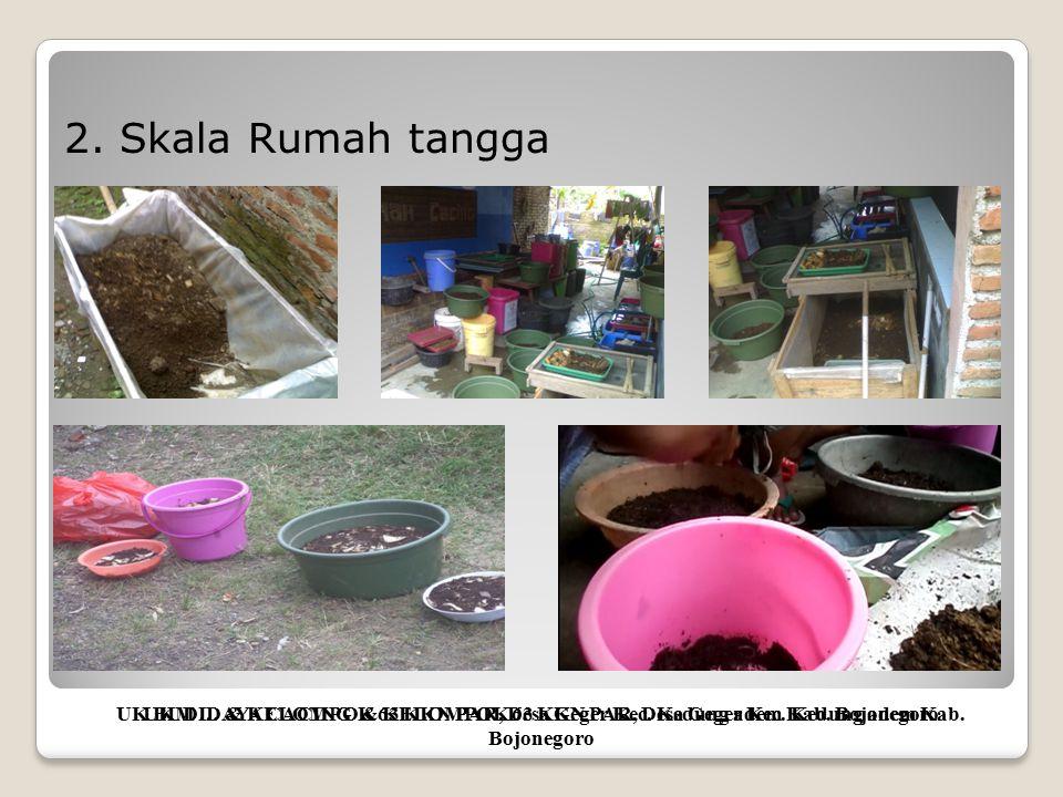 Visualisasi praktek pembuatan media ternak cacing UKM … & KELOMPOK 63 KKN PAR, Desa Geger Kec.