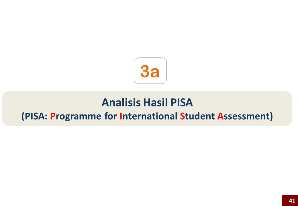 Analisis Hasil PISA (PISA: Programme for International Student Assessment) 3a 41