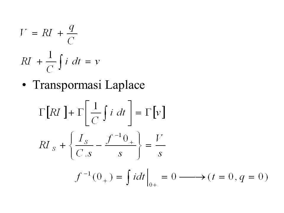 Transpormasi Laplace