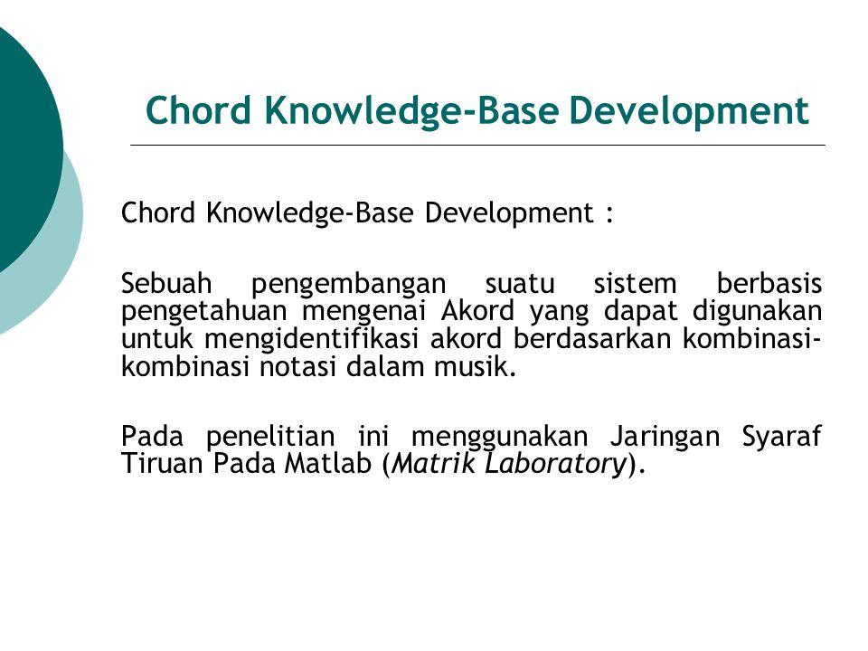 Tahapan dalam Chord Knowledge-Base Development