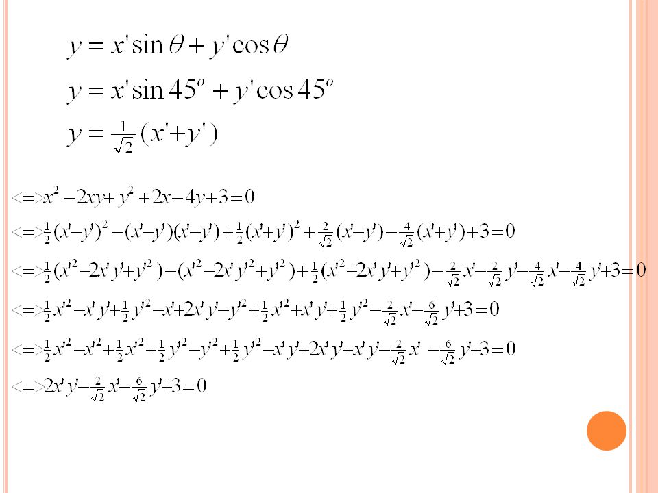 N O.22 HALAMAN 93 Use theorem 3.9 to name the graph of each equation.
