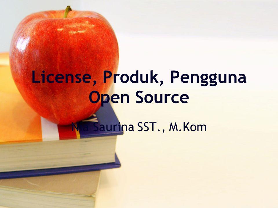 Agenda License Open Source Produk Open Source Pengguna Open Source FAQ (Frequently Asked Question)