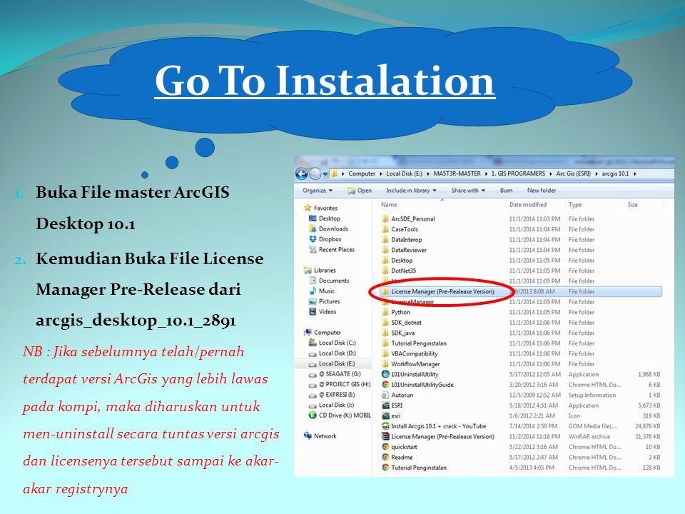 Jika semua sudah siap, maka langkah selanjutnya yaitu melakukan instalasi License Manager Pre-Releasenya yaitu LM_10.1_2891, instalasi seperti lazimnya, yaitu next-next-accept-next-finish.