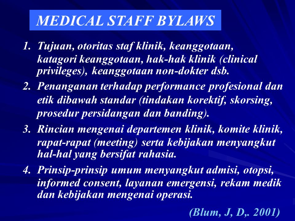  The role and purpose of the hospital. The duties and responsibilities of the GB.