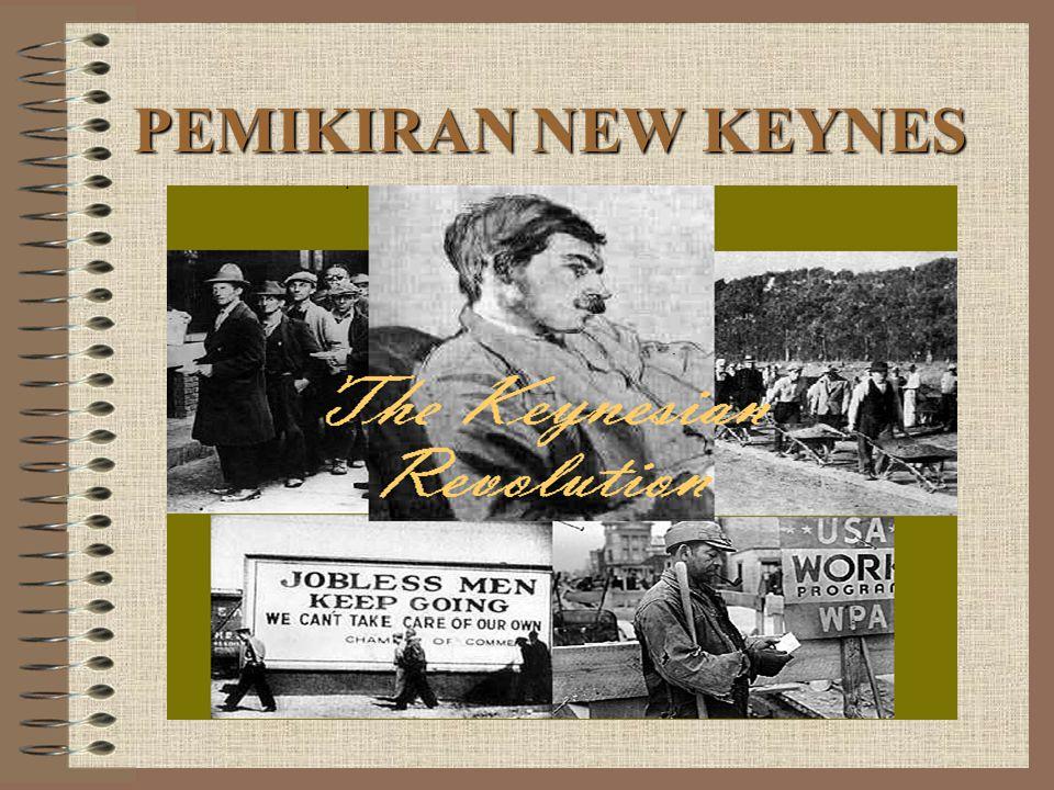 PEMIKIRAN NEW KEYNES