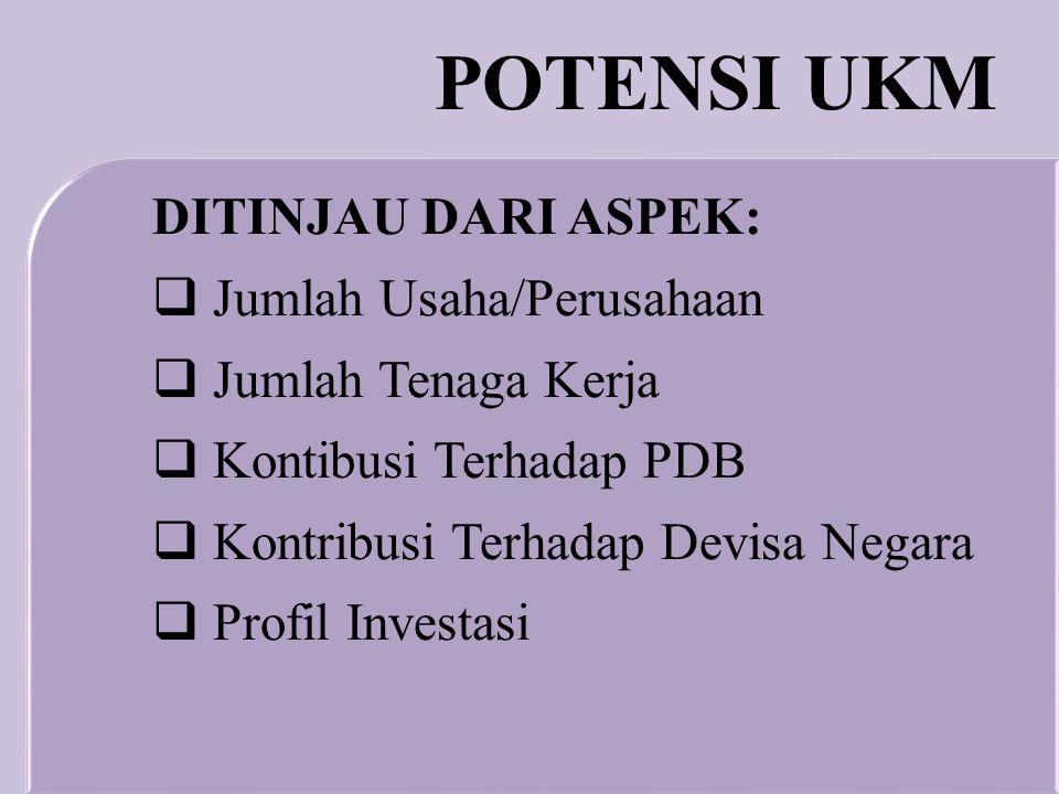  Mengulas potensi dan prospek UKM dalam perekonomian Indonesia  Mendiskusikan strategi pengembangan produksi dan pemasaran produk-produk UMKM TUJUAN