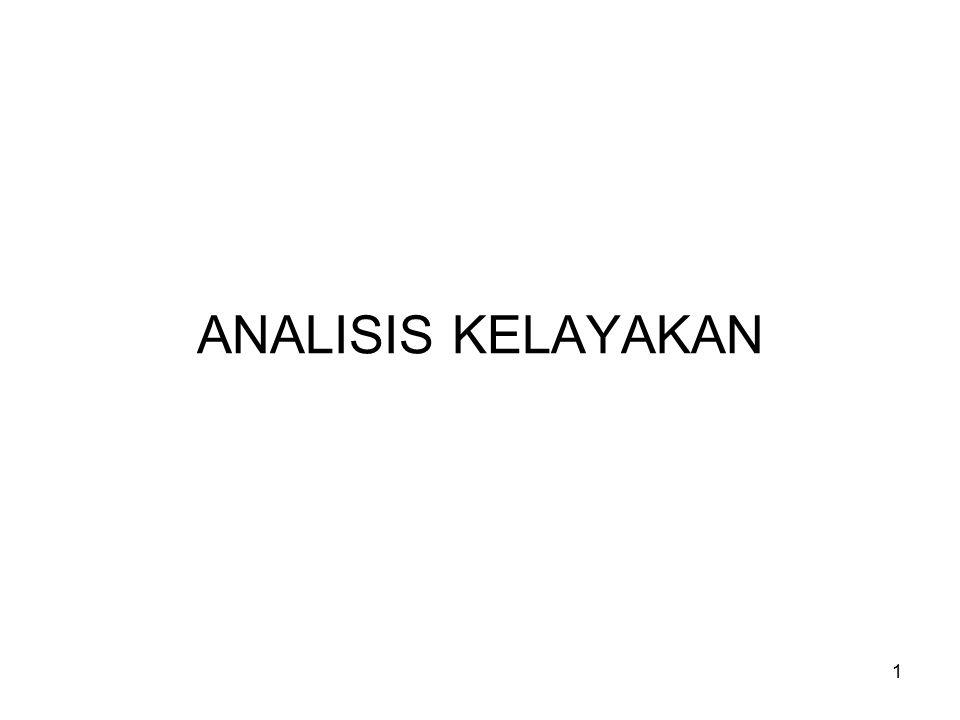 1 ANALISIS KELAYAKAN