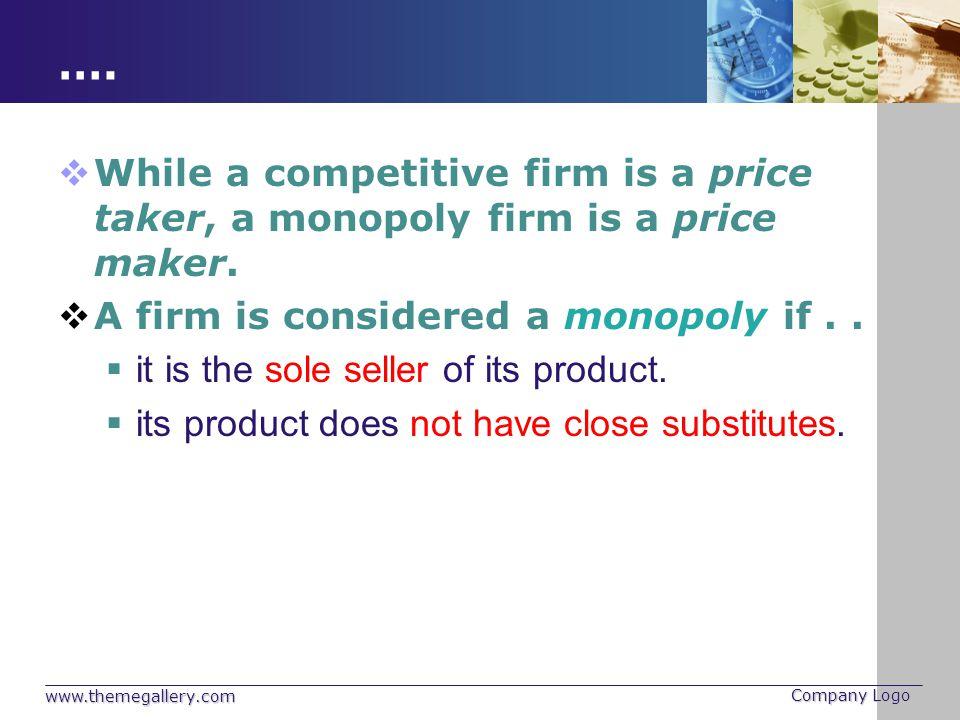 Figure 5 The Monopolist's Profit Copyright © 2004 South-Western Monopoly profit Average total cost Quantity Monopoly price Q MAX 0 Costs and Revenue Demand Marginal cost Marginal revenue Average total cost B C E D