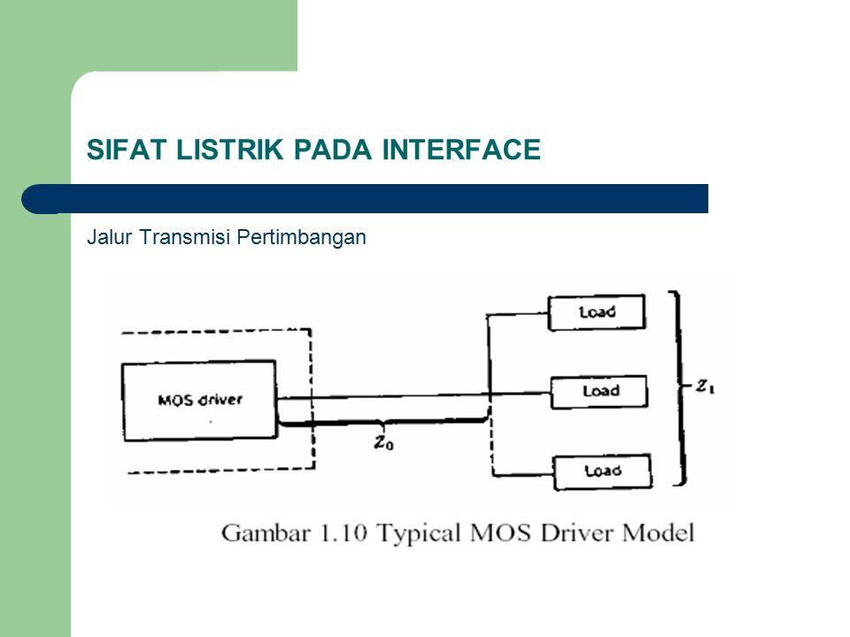 SIFAT LISTRIK PADA INTERFACE Jalur Transmisi Pertimbangan