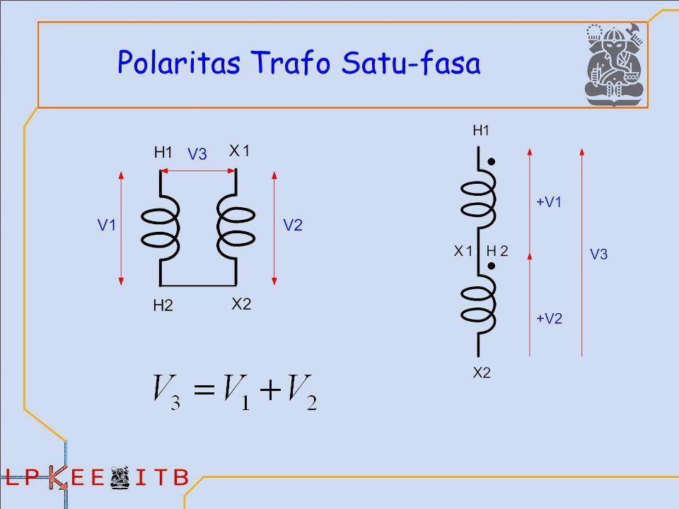 Polaritas Trafo Satu-fasa