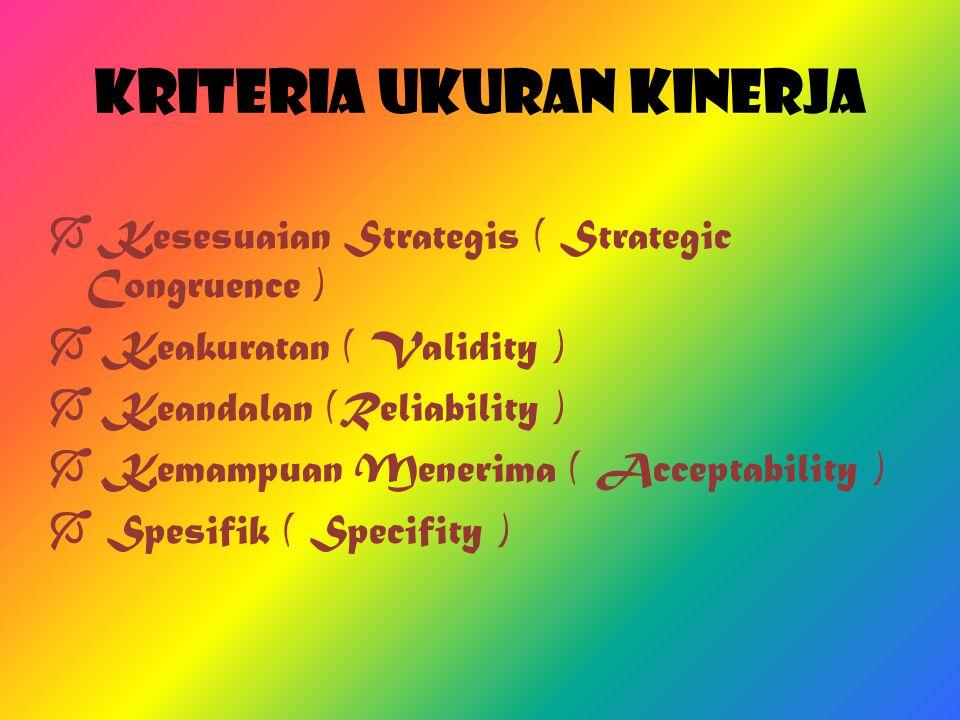 Tujuan Penilaian Kinerja  Tujuan Strategis (Strategic Purpose)  Tujuan Administratif (Administrative Purpose)  Tujuan Penngembangan (Developmental purpose)