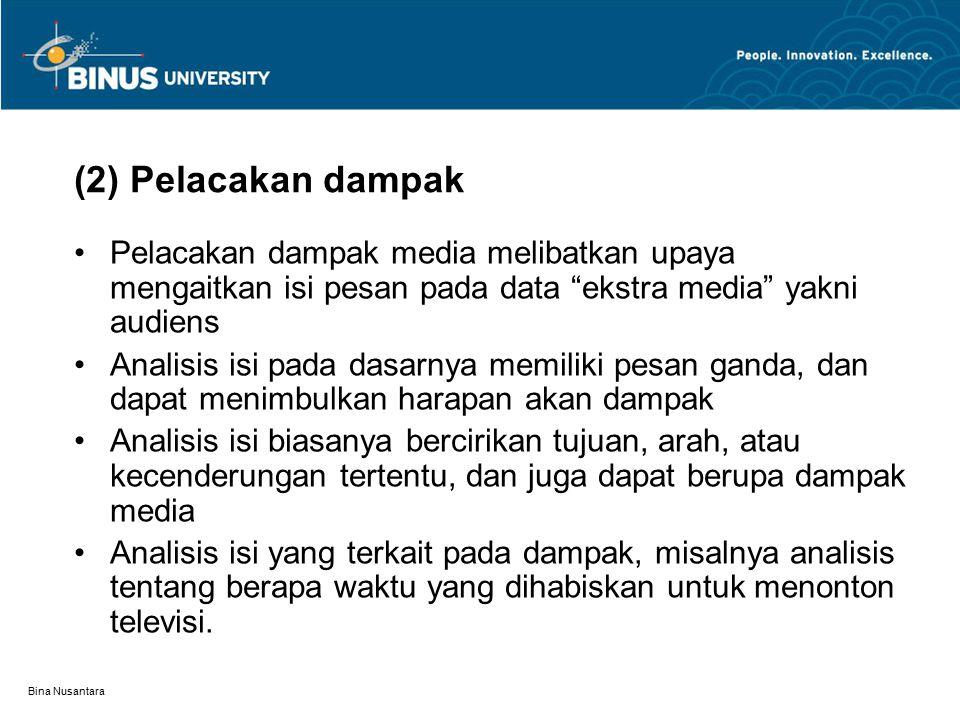 Bina Nusantara 5) Bentuk laporan berita Bentuk laporan berita dapat diamati dalam dua hal.