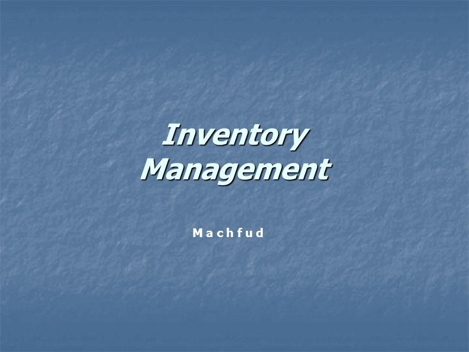 2 Persediaan: sejumlah item barang yang ditahan ( disimpan ) untuk memenuhi kebutuhan atau permintaan internal/eksternal industri.