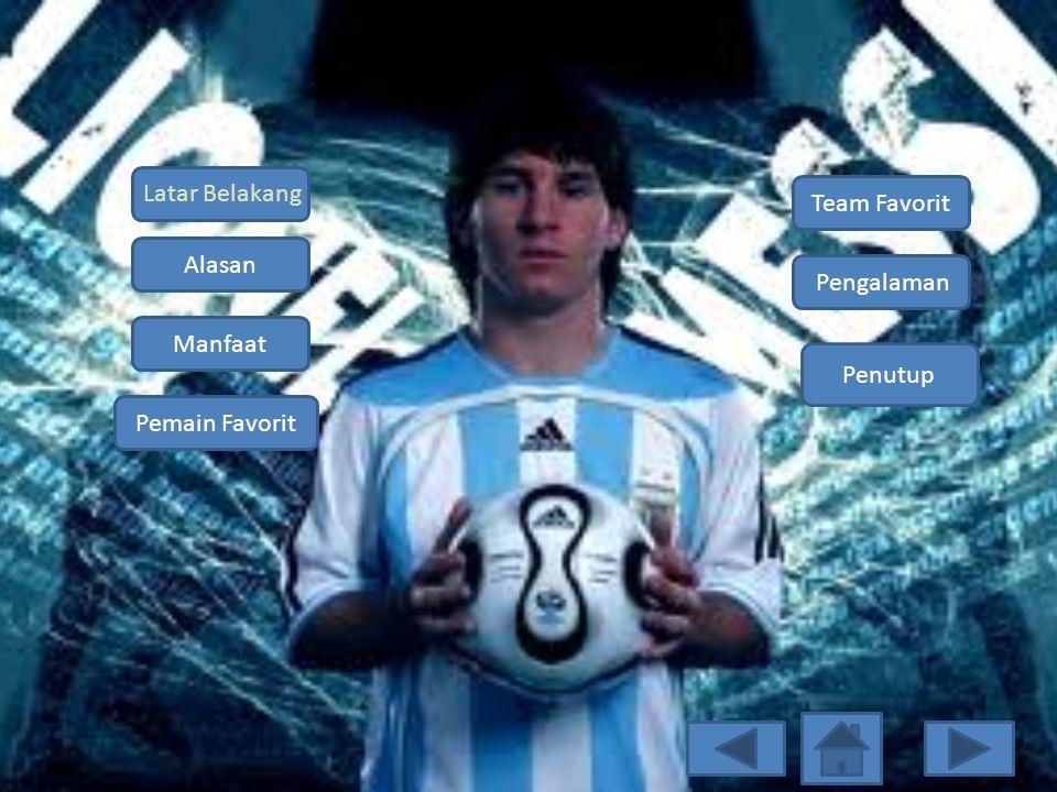Harapan saya terhadap sepak bola, semoga sepak bola terus menjadi olahraga yang maju.
