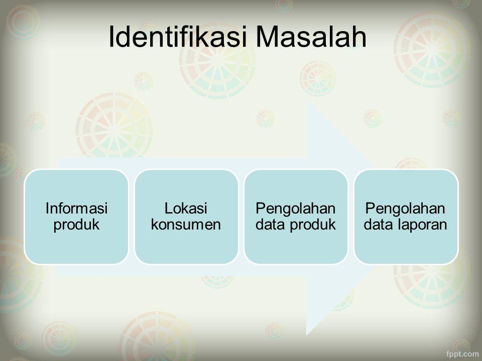 Maksud dan Tujuan (1)  Maksud  Membangun sistem penjualan yang berbentuk aplikasi penjualan online (E-Commerce).