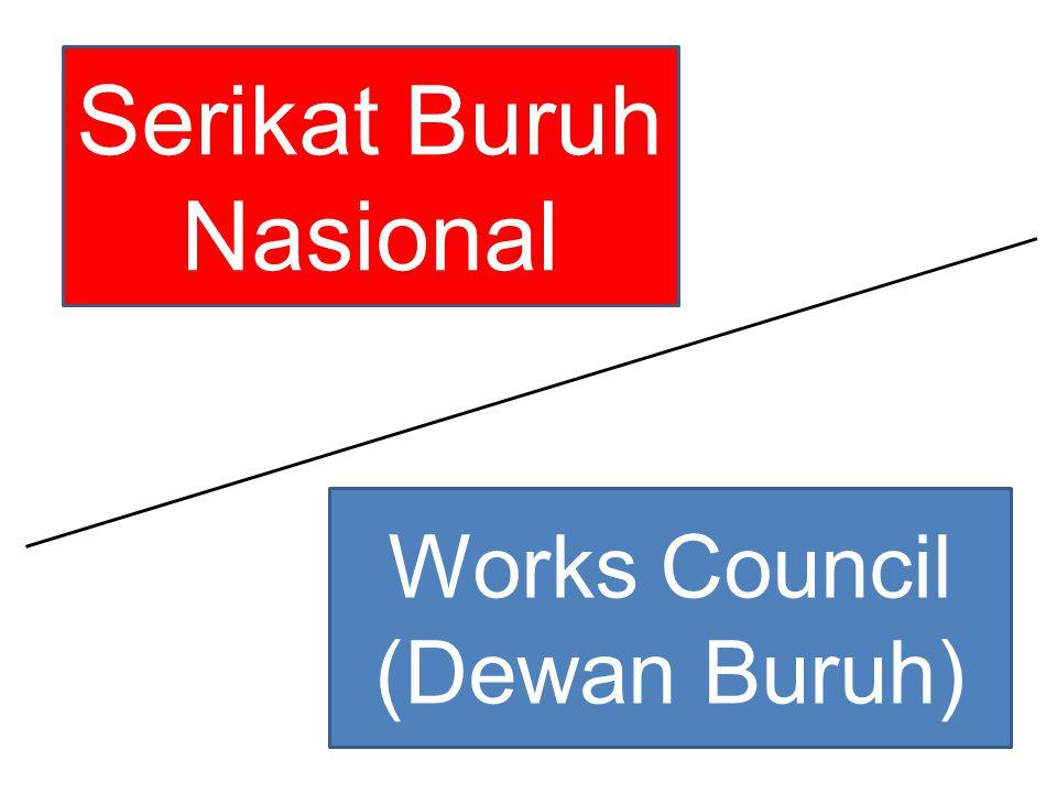 Serikat Buruh Nasional Works Council (Dewan Buruh)
