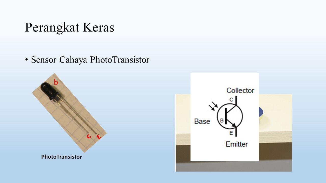 Perangkat Keras Sensor Cahaya PhotoTransistor PhotoTransistor b