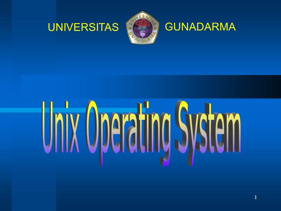 1 UNIVERSITAS GUNADARMA