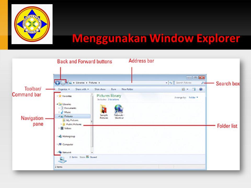 Men-Compress – File / Folder 1.Buka folder yang diinginkan.