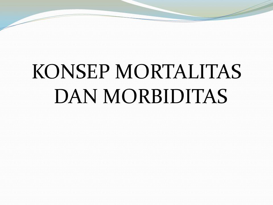 2.Sensus dan Survey Penduduk Kejadian kematian dicatat sekian lama peristiwa kematian itu terjadi.