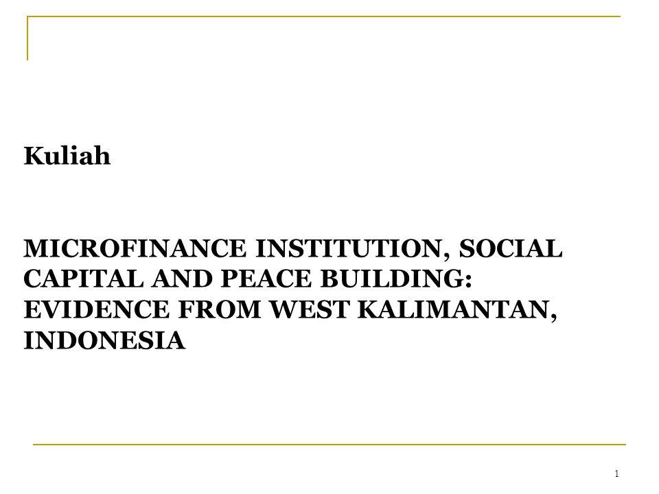 2 Gambaran Umum LKM di Indonesia Perkembangan LKM di Indonesia paling dinamis (Rosengard et al, 2007) Keberagaman teknologi keuangan dan pola pengelolaan 53.228 gerai LKM di Indonesia, melayani hampir 16 juta peminjam dan 38 juta penabung (Ismawan dan Budiantoro: 2005) Hampir 50 % total rumah tangga kesulitan mengakses kredit mikro (Tim Survai BRI, 2001)