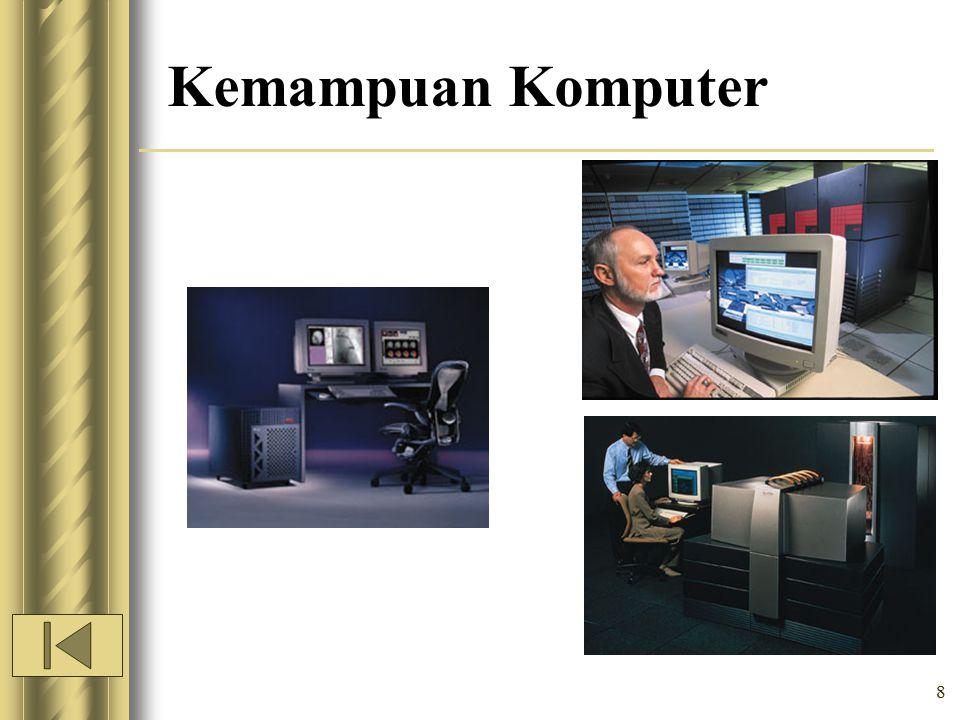 8 Kemampuan Komputer