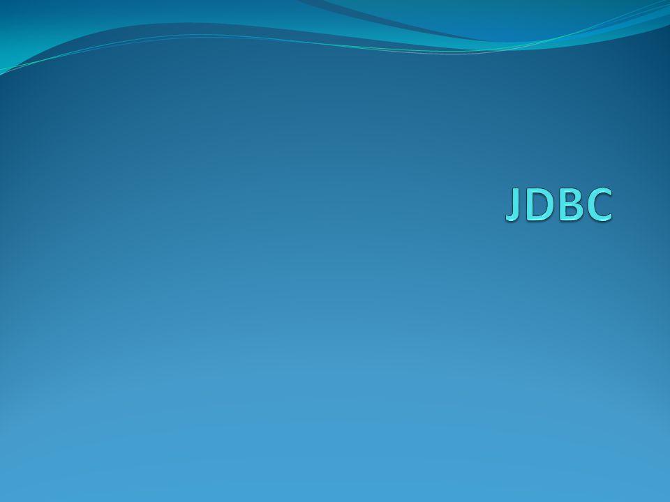 Langkah Penggunaan JDBC 1.Load driver JDBC 2. Definisikan URL database 3.