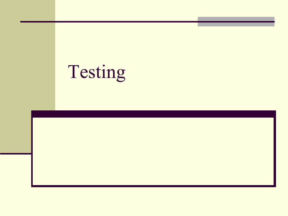 System testing Pada system testing, pengecekan terhadap sistem apakah tetap bekerja dengan baik pada kondisi normal Pengecek juga mengecek performance dari sistem, dengan kondisi tidak normal misalnya dengan cara memasukan jumlah data input yang besar.